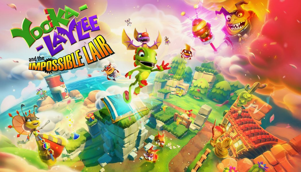 Yooka-Laylee and the Impossible Lair na dłuższym gameplayu