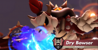 Dry Bowser w Mario Tennis Aces