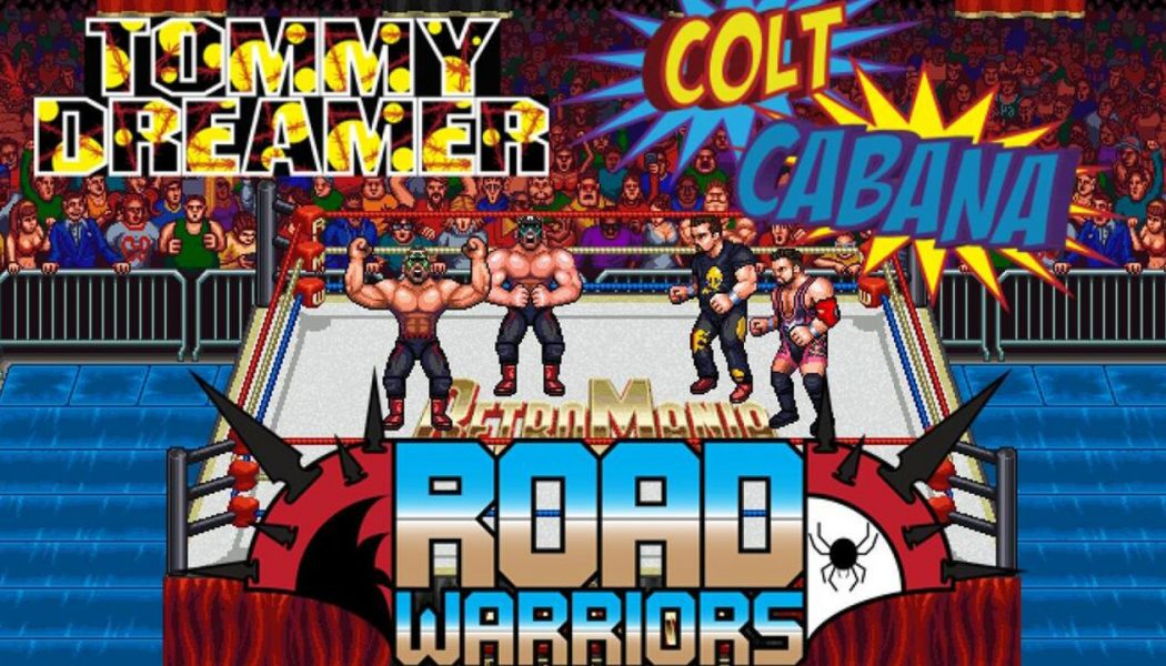 RetroMania Wrestling trafi na Nintendo Switch w 2020 roku