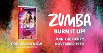 Zumba Burn it Up! trafi na Switcha już 22 listopada