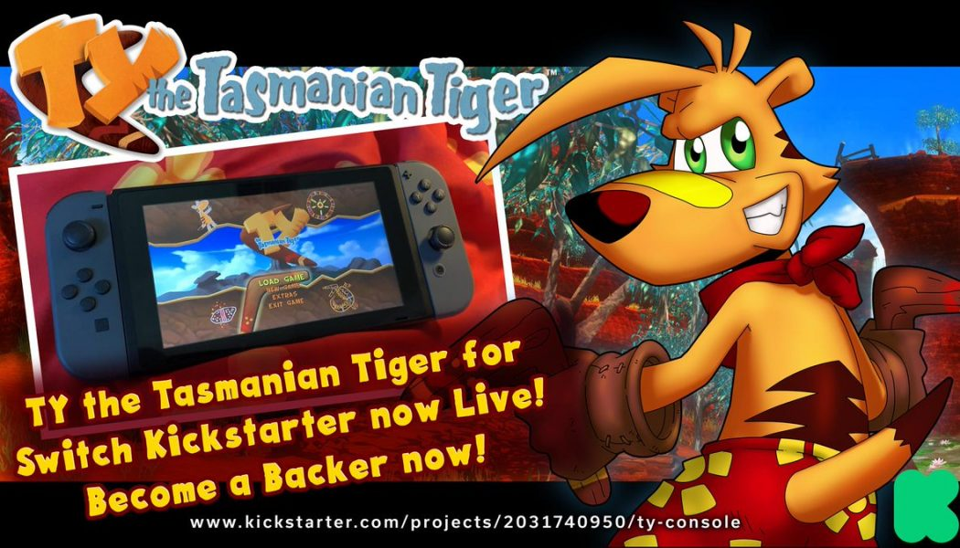 Ty the Tasmanian Tiger na Switcha w akcji