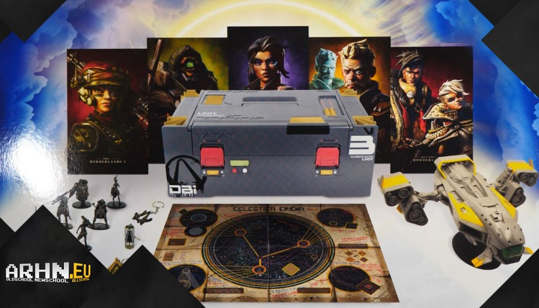 Rozpakowanie: Borderlands 3 Diamond Loot Chest Collector's Edition