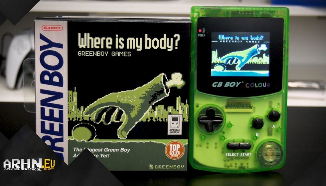 Where is my body? — Nowa przygodówka na Game Boya!